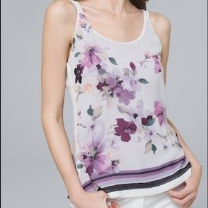 ULTIMATE REVERSIBLE FLORAL/SOLID CAMISOLE